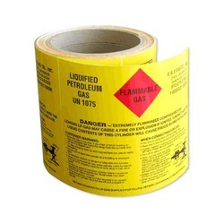 Label for Chemical Industry