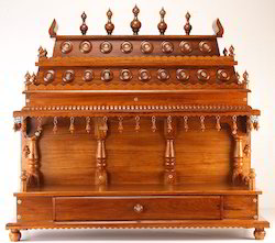 wooden meenakshi mandir item code tmk3pl12 this mandir shrine is a