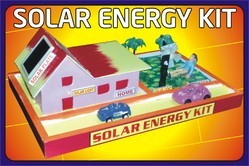 Solar Energy Kit Working Model