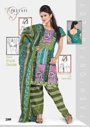 Preyasi Printed Wear Salwar Suits Dress Material