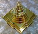 12 X 12 Folding Brass Made Maha Meru Shree Yantra