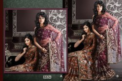Indian Net Sarees