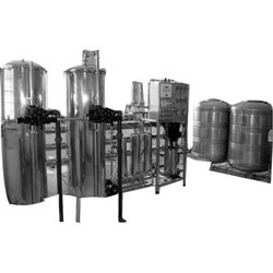 High Mineral Water System