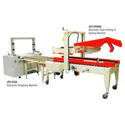 Auto Sealing & Strapping Machine