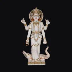 Marble Ganga Ji Statue