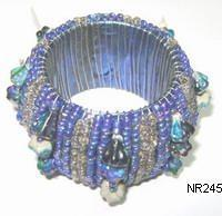 Beaded Napkin Ring NR245