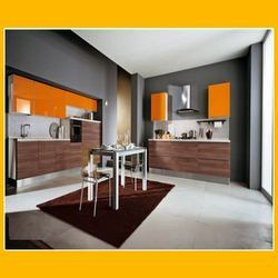 Ala-Cucine Orange Kitchen