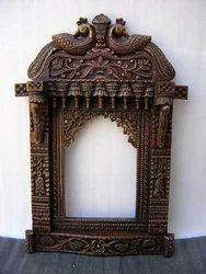 Handcraved Wooden Jharokha