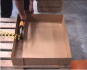Packaging Solutions-To Fix Corrugated Cartons To Pallets
