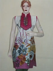 Angrakha Style Kurtis
