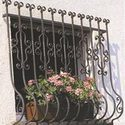 balcony cast iron grills