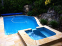 pool paving stone tile