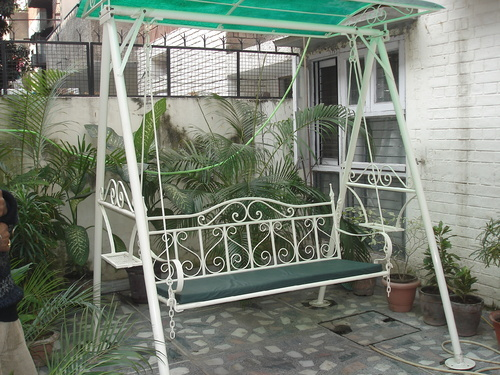 Wrought Iron Garden Jhula,Garden Decoratives and Other Landscaping ...