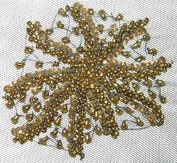 Beaded Patch 1014