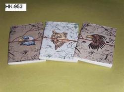 Animal Theme Handmade Paper Journals