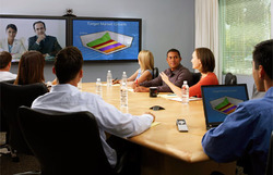 audio and video conferencing phone