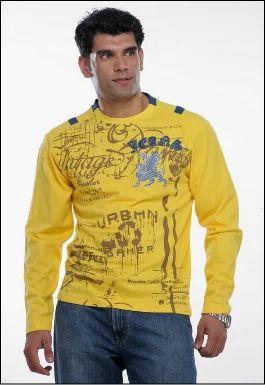 Fine Knits Men T Shirts