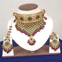 Royal Rajputana Kundan Necklace Set