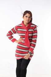 Ladies long sweater 17