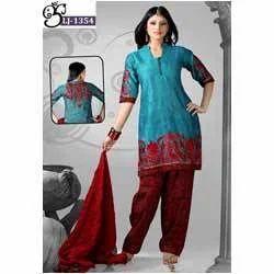 Double Colour Salwar Suits