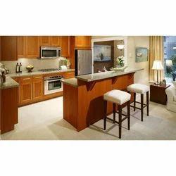Modular Kitchen Design - Wooden Modular Kitchen Designer, Laminate