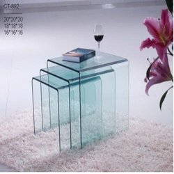 Center Table Multi Glass Layered
