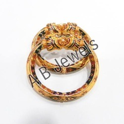 Gold Design Antique Bangles