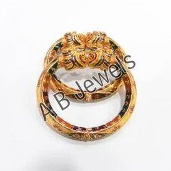 Gold Design Antique Bangles