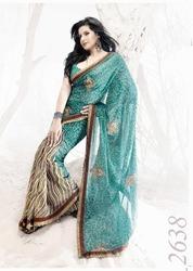 Attractive Sequin Designer Sarees