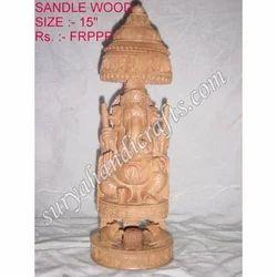 Wooden Sandle Wood Ganesha
