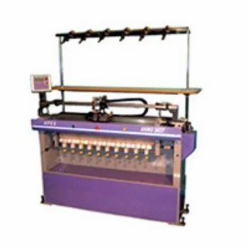 Semi Computerized Flat Knitting Machines