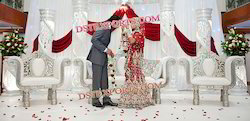 Elegant Asian Wedding Stage Furniture