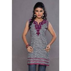 Printed Embroidery Kurtis
