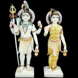 Marble Shiv Parvati
