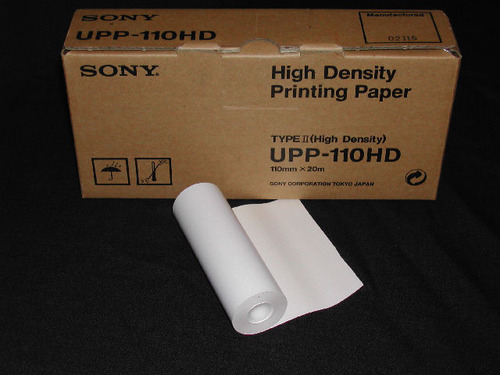 Sony UPP-110HD Thermal Paper For Sony Printer
