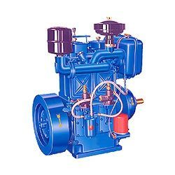 Air & Water Cooled Twin Cylinder Diesel Engine