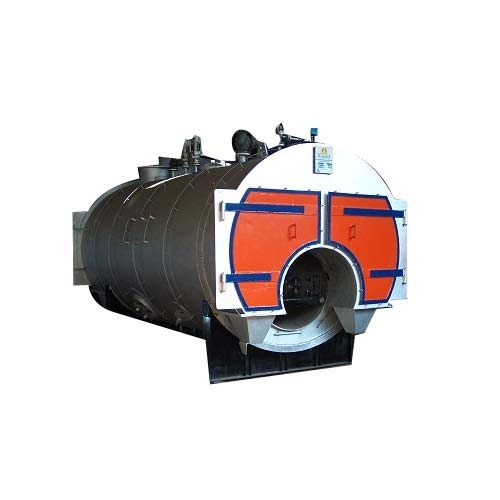 Fully Wetback Three Pass Steam Boiler