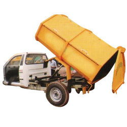 Covered Tipper on Small Chassis