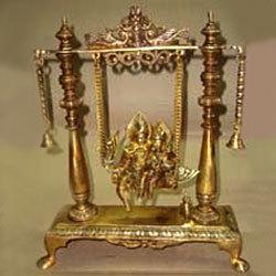 Radha Krishna Swing w/ 2 Bells
