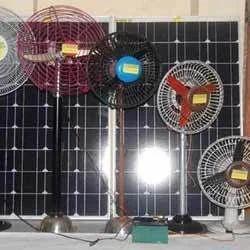 AC & DC Solar Fans