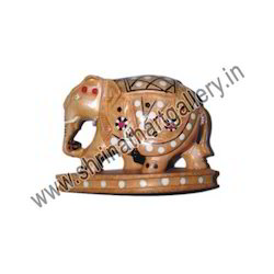 Wooden Animal Elephant