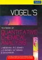 Vogel 39 s Quantitative Chemical Analysis