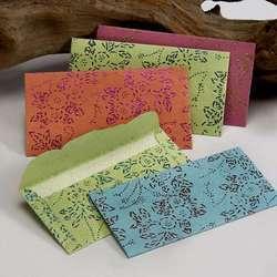 Handmade Paper Dew Drop Printed Correspondence Stationery