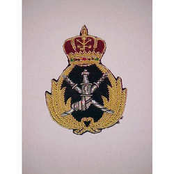 Oman Field Marshal Cap Badge Crest