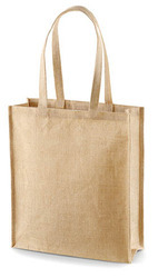 Self Handle Jute Shopping Bags
