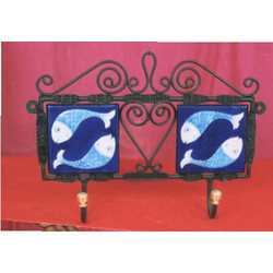 Blue Pottery Hanger