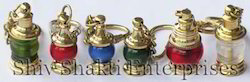 Brass Lamp Key Chain Set