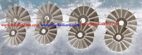 Cast Aluminum Cooling Fan For HT Motor