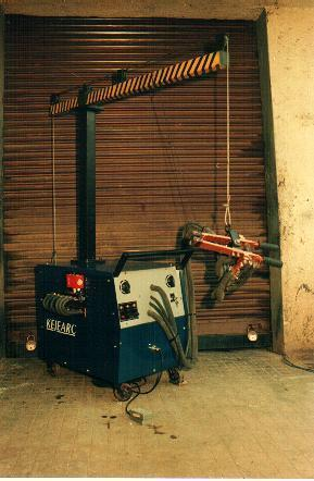 Portable Electro Brazing Equipment
