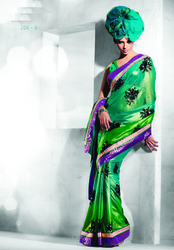 Georgette Prints Sarees
